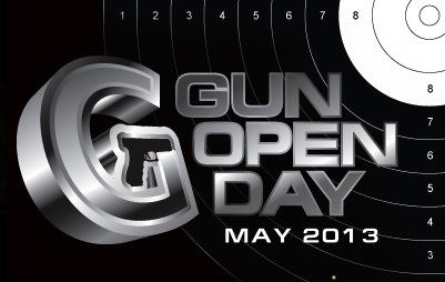 GUN OPEN DAY' May 2013